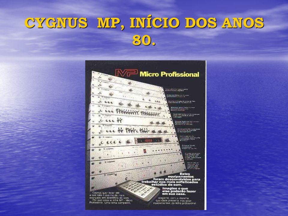 CYGNUS MP, INÍCIO DOS ANOS 80.