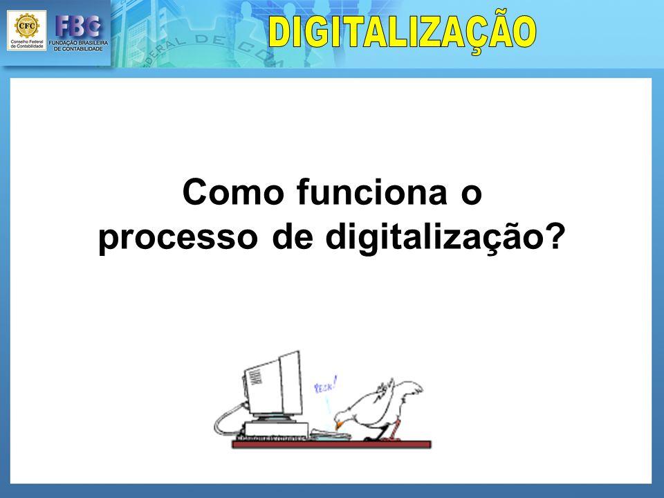 Como funciona o processo de digitalização?