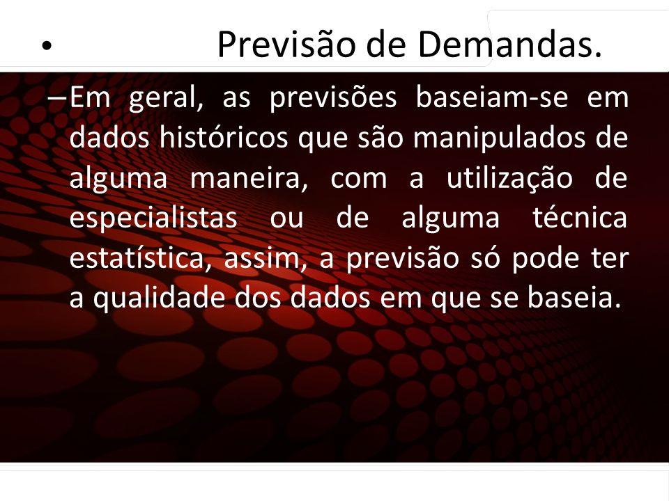 euler@imvnet.com.br | www.slideshare.net/eulernogueira Coleta e preparação dos dados – Em geral, as previsões baseiam-se em dados históricos que são m