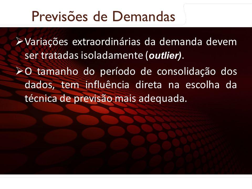 euler@imvnet.com.br | www.slideshare.net/eulernogueira Coleta e preparação dos dados: Variações extraordinárias da demanda devem ser tratadas isoladam