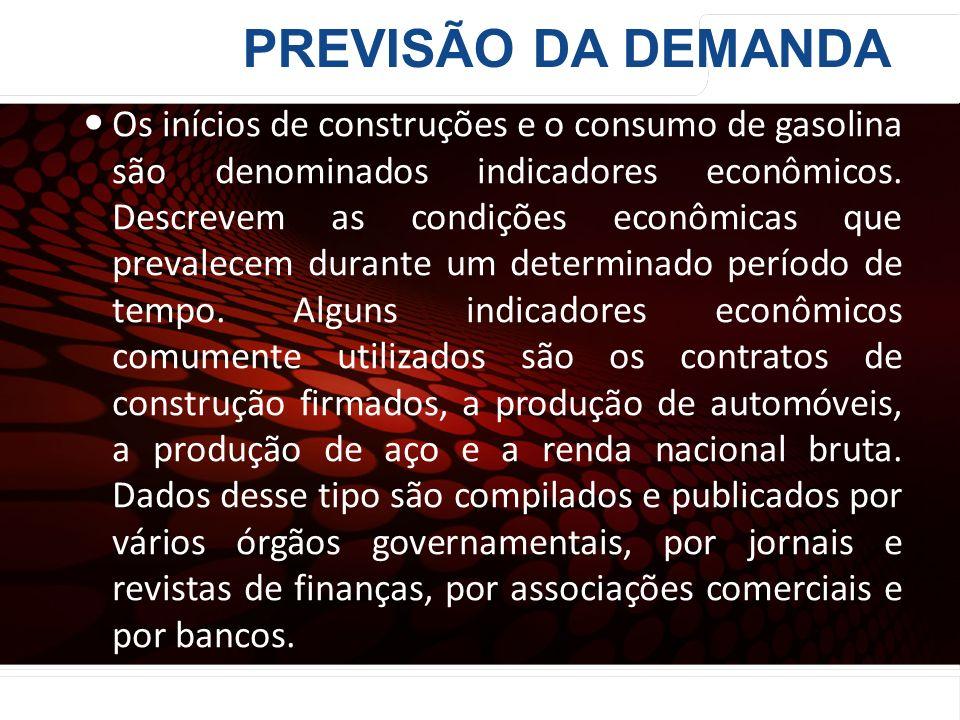 euler@imvnet.com.br | www.slideshare.net/eulernogueira Os inícios de construções e o consumo de gasolina são denominados indicadores econômicos. Descr