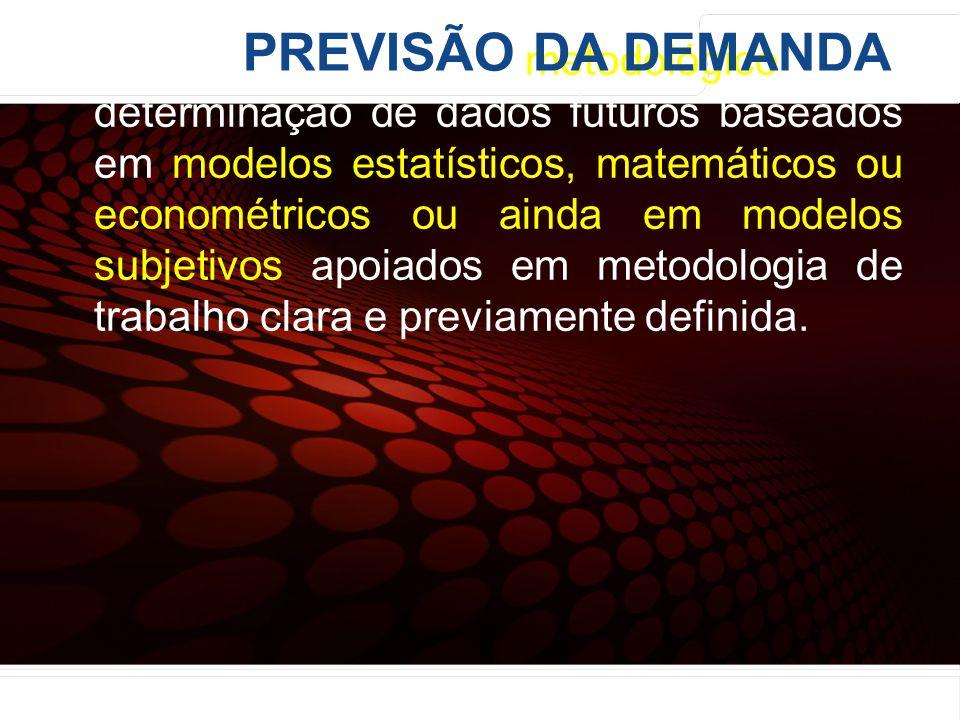 euler@imvnet.com.br | www.slideshare.net/eulernogueira Previsão: processo metodológico para determinação de dados futuros baseados em modelos estatíst