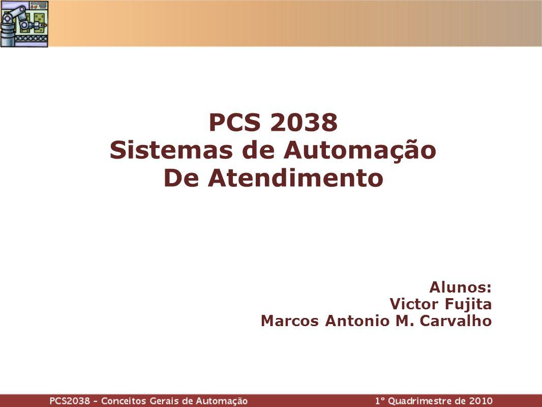 Alunos: Victor Fujita Marcos Antonio M. Carvalho PCS 2038 Sistemas de Automação De Atendimento