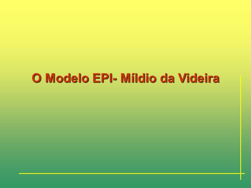 ESTRUTURA DO TRABALHO Cap. 6- São apontadas possíveis correcções a introduzir no modelo EPI-Míldio para o tentar aproximar mais da realidade registada
