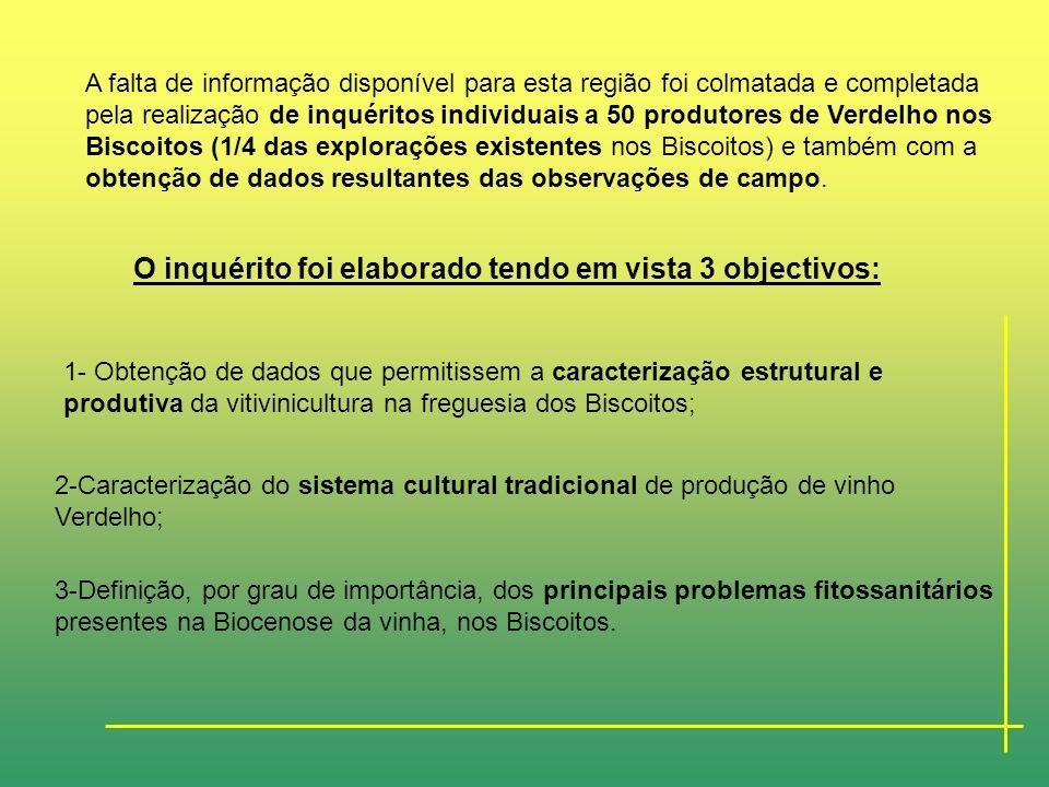 PARTE II- Trabalho Experimental CARACTERIZAÇÃO SUMÁRIA DA REGIÃO VITIVINICOLA DOS BISCOITOS