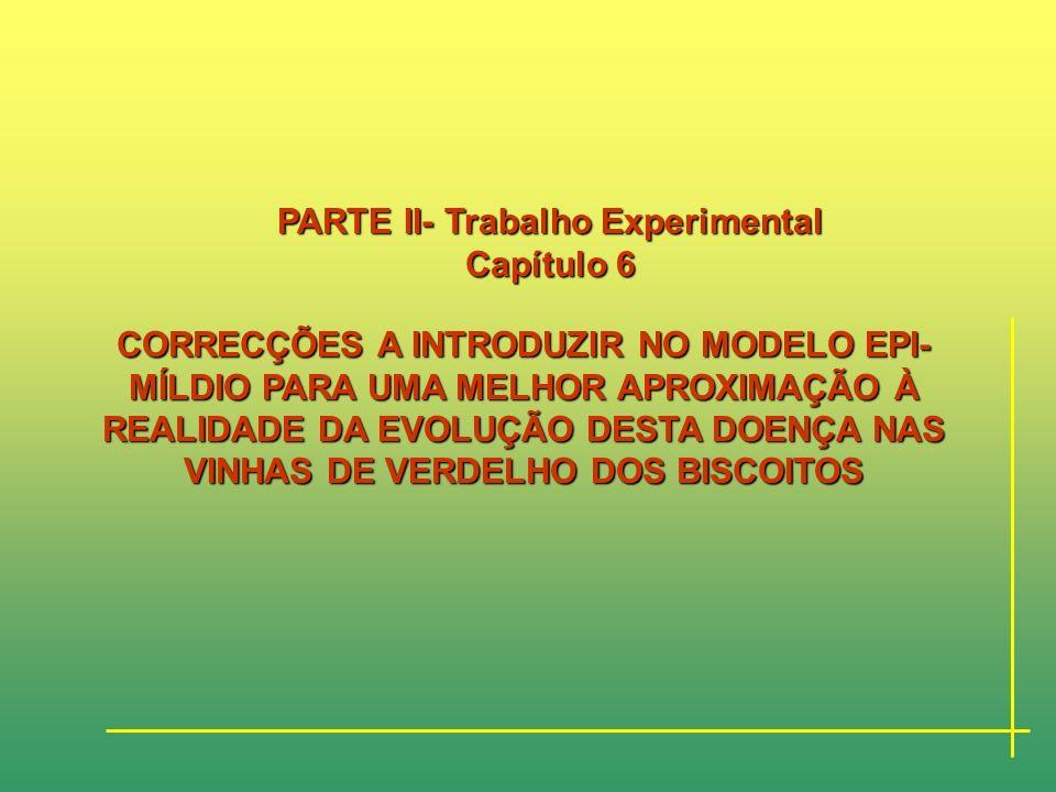 APLICAÇÃO DO MODELO EPI-MÍLDIO DA VIDEIRA À REGIÃO VITIVINÍCOLA DOS BISCOITOS