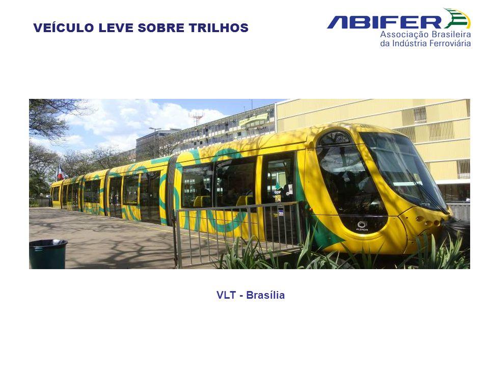 VLT - Brasília VEÍCULO LEVE SOBRE TRILHOS