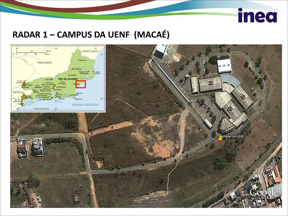 RADAR 1 – CAMPUS DA UENF (MACAÉ) UENF - Macaé