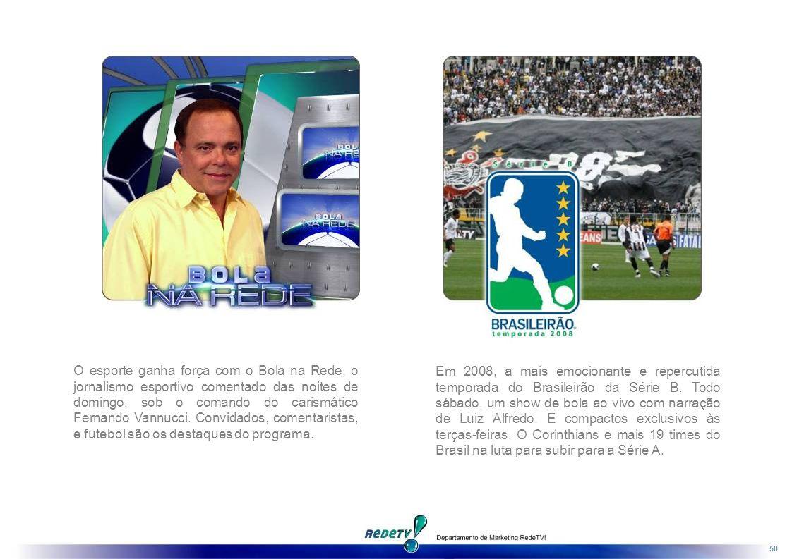 50 Em 2008, a mais emocionante e repercutida temporada do Brasileirão da Série B.