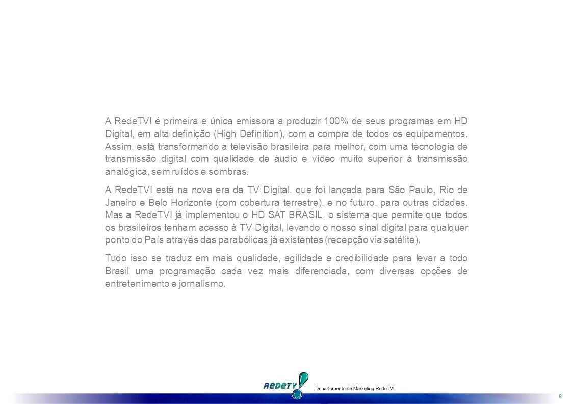 TECNOLOGIA DIGITAL DE PONTA