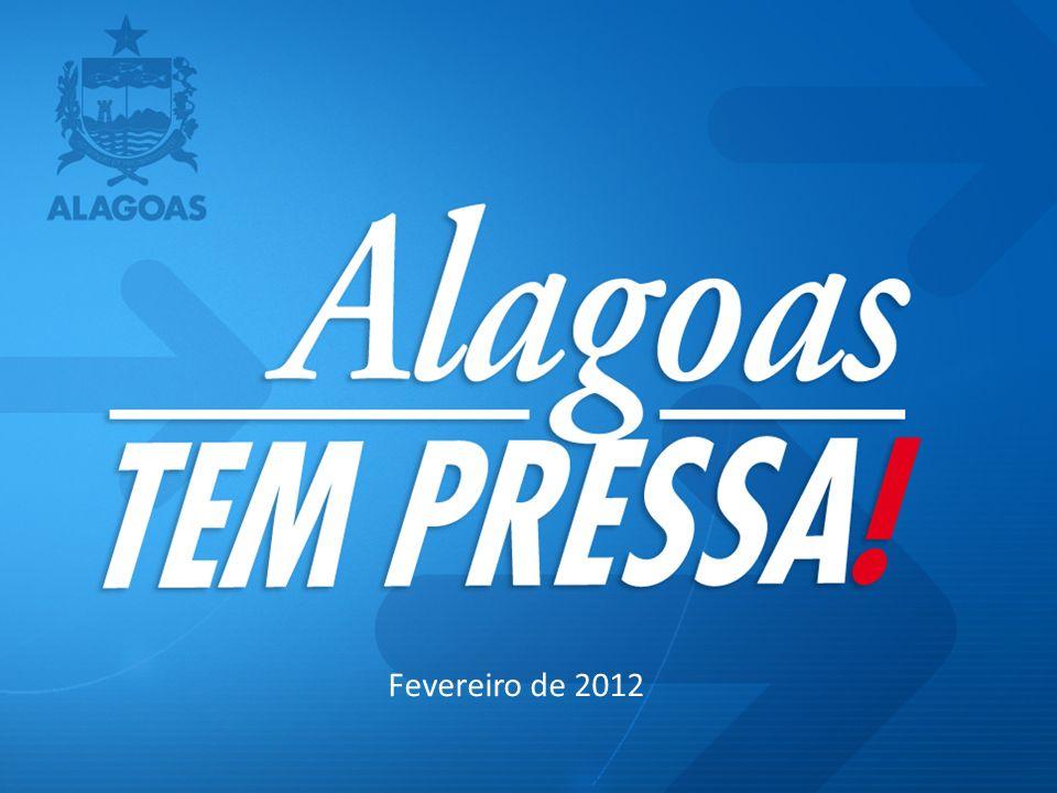 P LANO E STRATÉGICO DE A LAGOAS 2011-2022 (46 ESTRATÉGIAS ) Composição do Programa Alagoas Tem Pressa PPA 2012-2015 Projetos Estruturantes Projetos Setoriais Prioritários SALA DE SITUAÇÃO CONTROLE DE METAS E RESULTADOS P ROGRAMA A LAGOAS T EM P RESSA