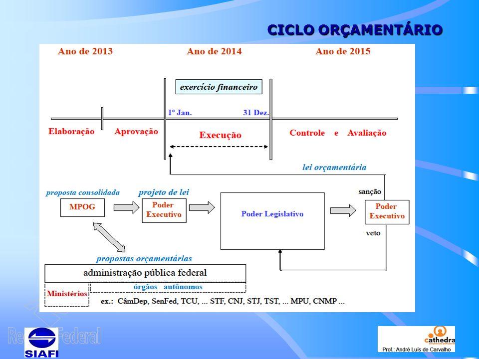 CICLO ORÇAMENTÁRIO