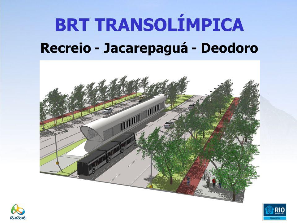 BRT TRANSOLÍMPICA Recreio - Jacarepaguá - Deodoro