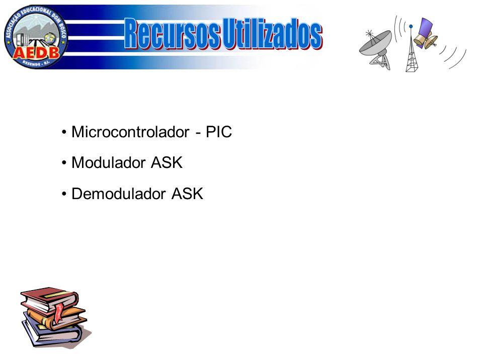 Microcontrolador - PIC Modulador ASK Demodulador ASK