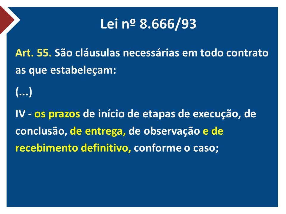 TCU - Acórdão nº 401/2011 – 2ª C 1.4.Alertas: 1.4.1.