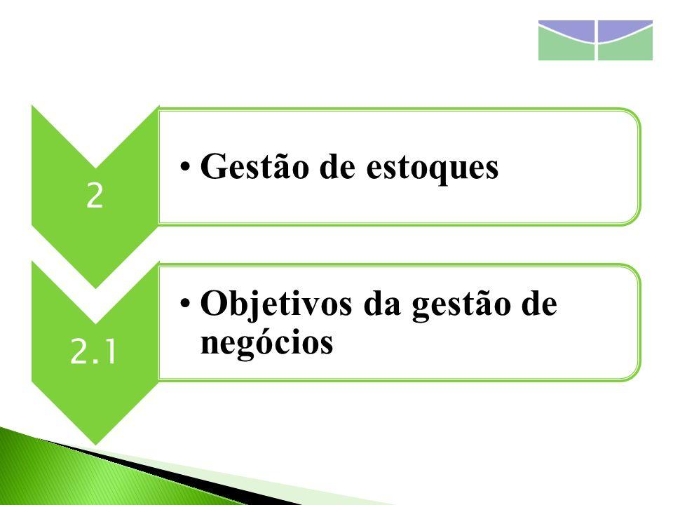 O controle de estoques exerce uma influência muito grande na responsabilidade da empresa.