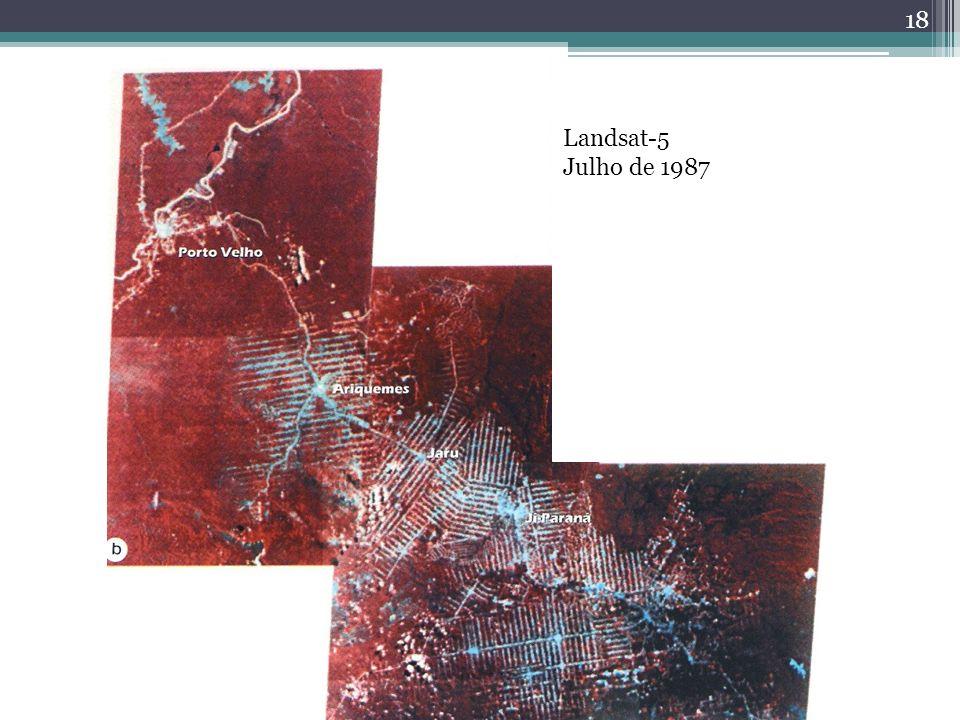 18 Landsat-5 Julho de 1987