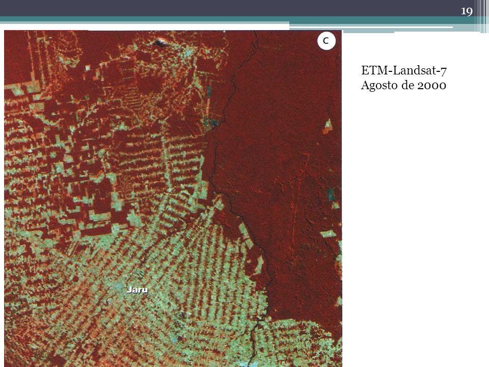 19 ETM-Landsat-7 Agosto de 2000
