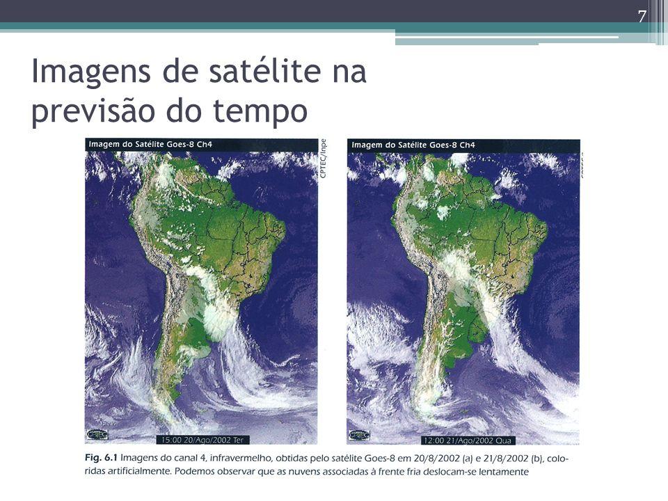 Imagens de satélite na previsão do tempo 7
