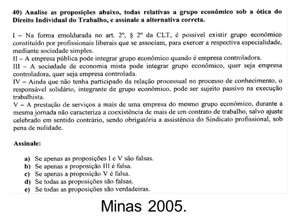 Minas 2005.