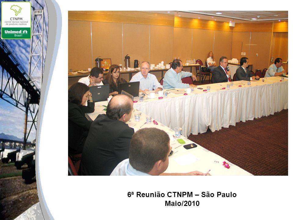 6ª Reunião CTNPM – São Paulo Maio/2010