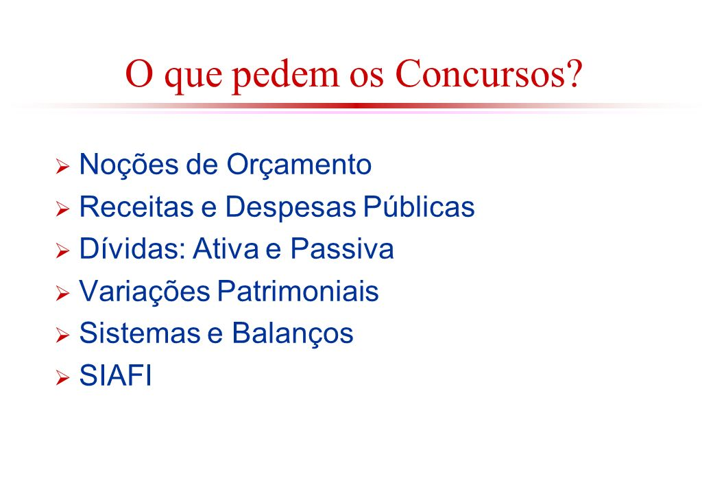 EXERCÍCIO (CONTADOR / UFRJ / 2004 – NCE).