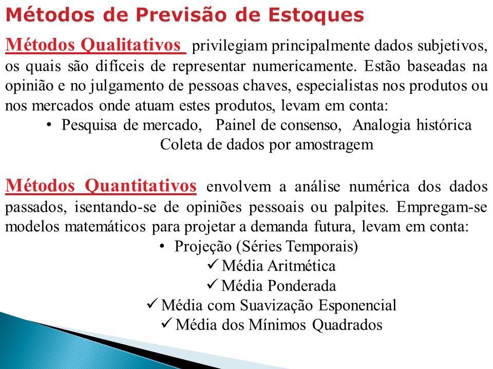 Métodos Qualitativos privilegiam principalmente dados subjetivos, os quais são difíceis de representar numericamente.