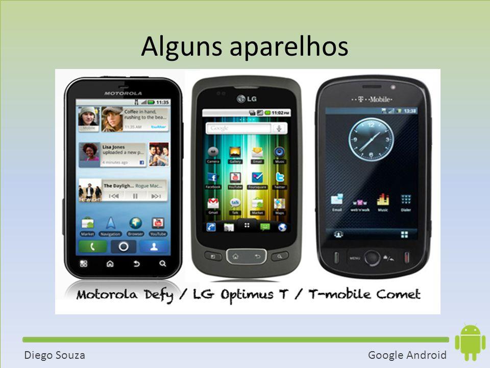 Google AndroidDiego Souza Alguns aparelhos