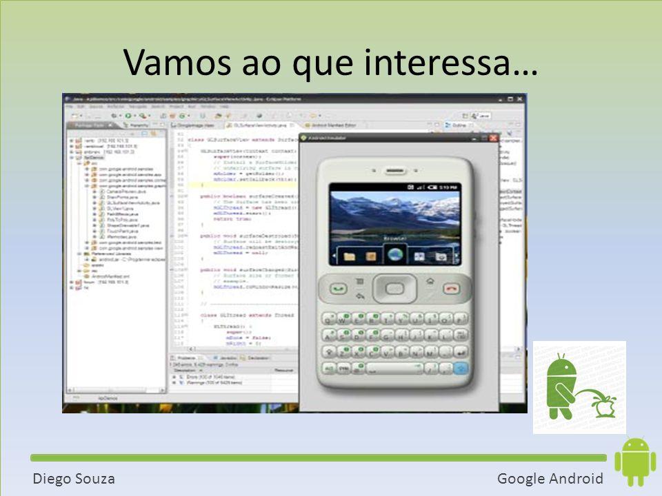 Google AndroidDiego Souza Vamos ao que interessa…