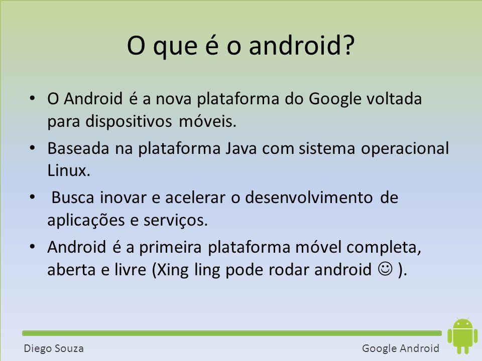 Google AndroidDiego Souza O que é o android.