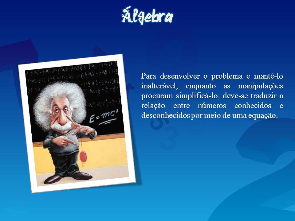 Hoje, as equações são usadas em muitos campos diferentes.