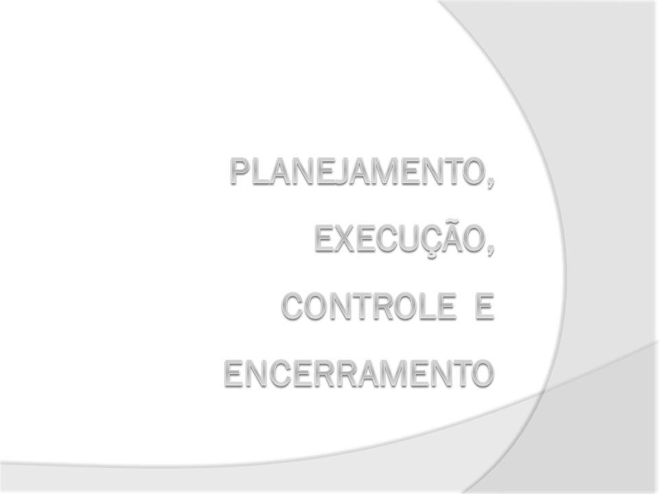 Planejamento Especificação detalhada do produto Definição da estrutura organizacional Plano do Projeto Política de acompanhamento e controle Especificações para instalação e operação 29