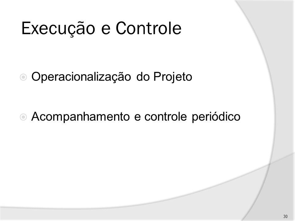 Encerramento Aceitação Transferência de resultados Avaliação dos resultados (efeitos e impactos) Desmobilização e dissolução da equipe Pode envolver uma subfase de operação/utilização 31