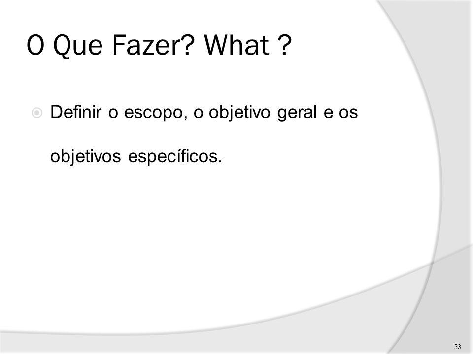 Por Que Fazer.Why .