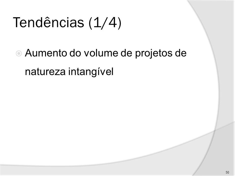 Tendências (2/4) Necessidade de justificar investimentos vultosos 51