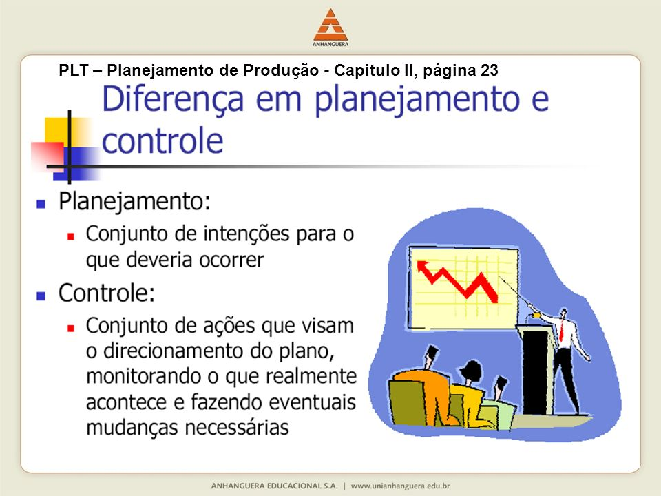 PLT – Planejamento de Produção - Capitulo II, página 23