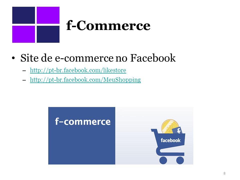 F-Commerce no Brasil Magazine Luiza vai vender produtos por Facebook e Orkut DE SÃO PAULO - O Magazine Luiza vai vender seus produtos por meio de redes sociais como o Facebook e o Orkut.