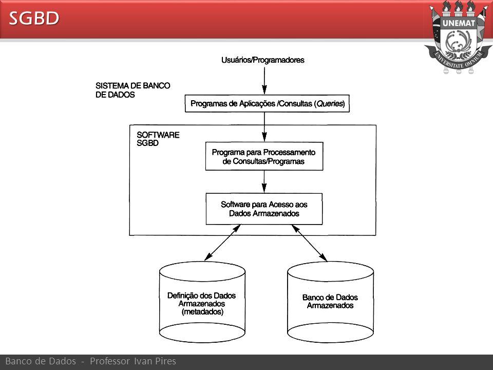 As principais características da abordagem de um banco de dados versus a abordagem de processamento de arquivos são as seguintes: – Natureza autodescritiva do sistema de banco de dados.