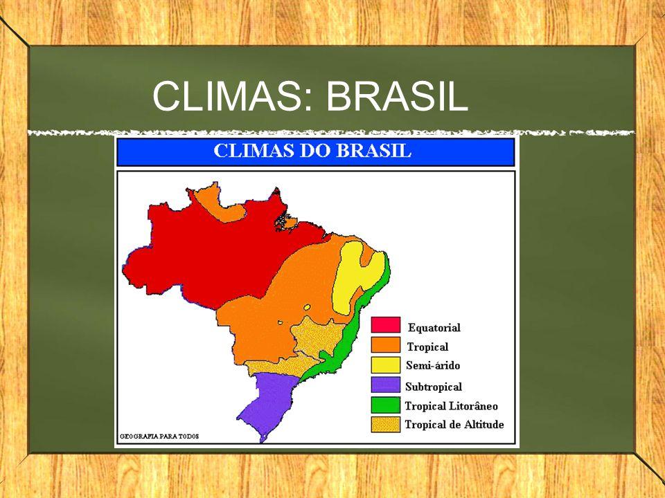 CLIMAS: BRASIL
