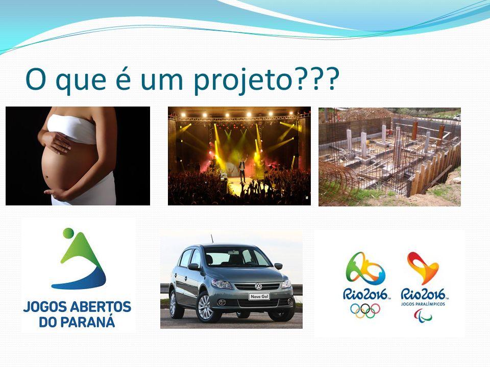 O que é um projeto???