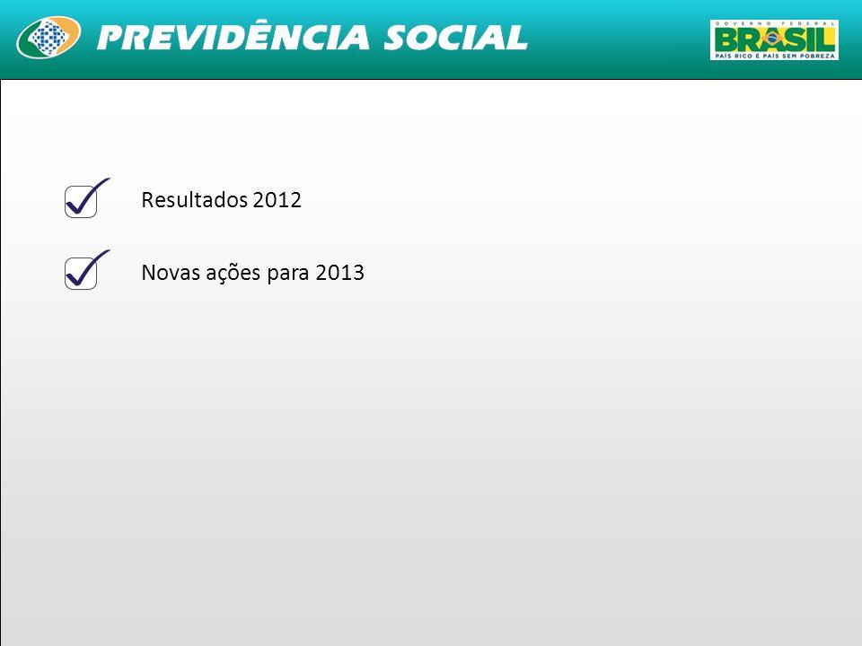 5 Resultados 2012 Novas ações para 2013