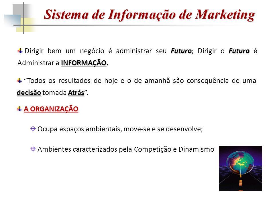 Sistema de Informação de Marketing FuturoFuturo INFORMAÇÃO.