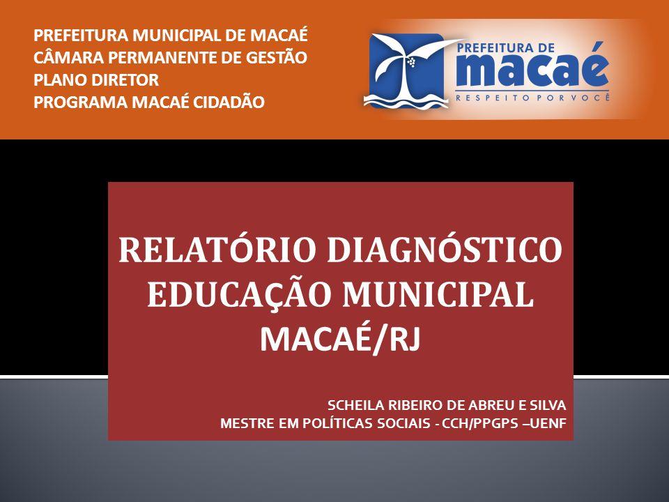 I – EDUCAÇÃO BÁSICA II – EDUCAÇÃO PROFISSIONAL – Unidades de Ensino – Objetivos e Metas para a Educação Municipal – Indicadores – Plano Municipal de Educação – Plano de Ações Articuladas – PAR – Um Olhar Sociológico para a Cultura das Escolas
