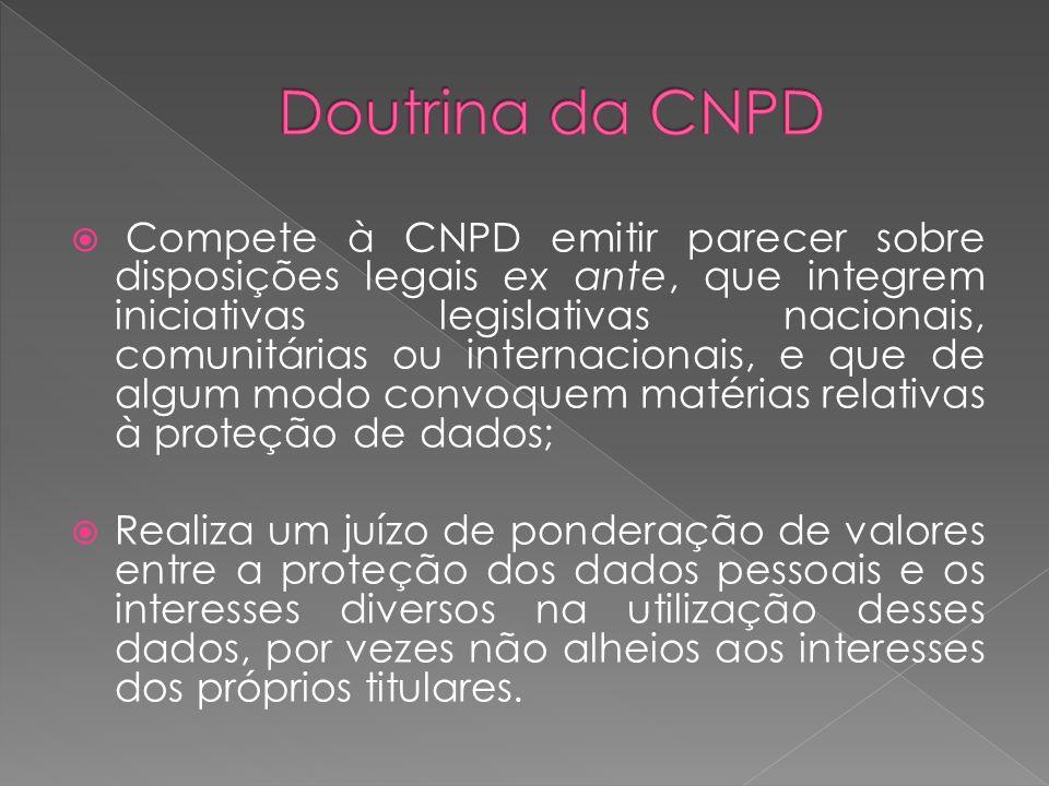 o CNPD pronunciou-se sobre a forma do ato legislativo.