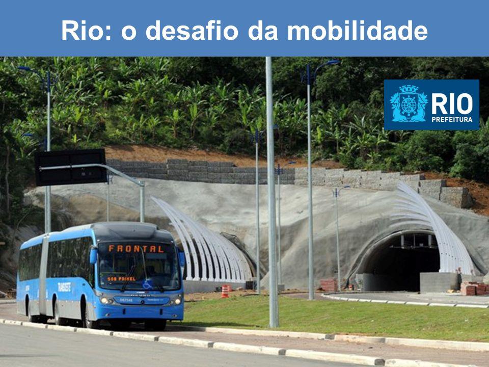 Rio: o desafio da mobilidade