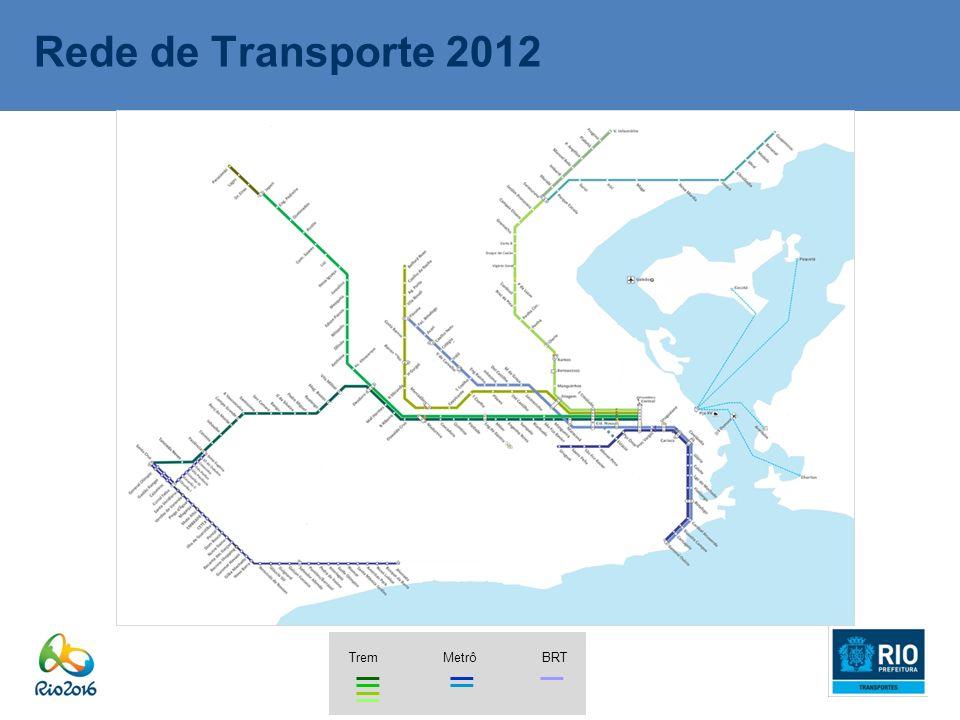 Rede de Transporte 2012 BRTTremMetrô