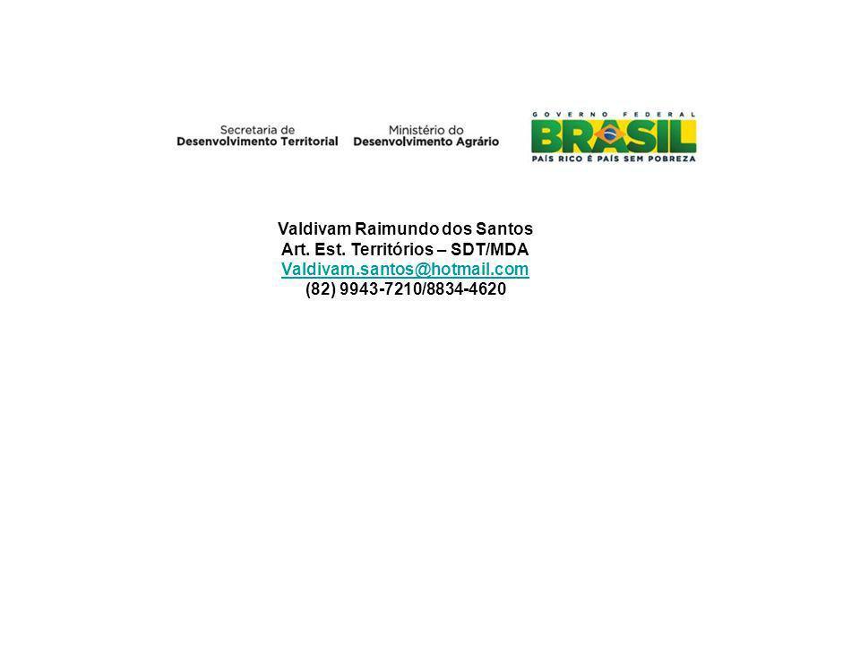 Valdivam Raimundo dos Santos Art.Est.