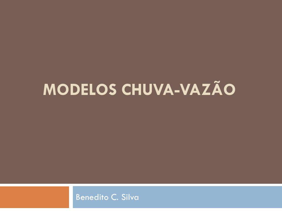 Modelos Precipitação-Vazão Características dos modelos Discretização das bacias : concentrado; distribuído por bacia; distribuído por célula