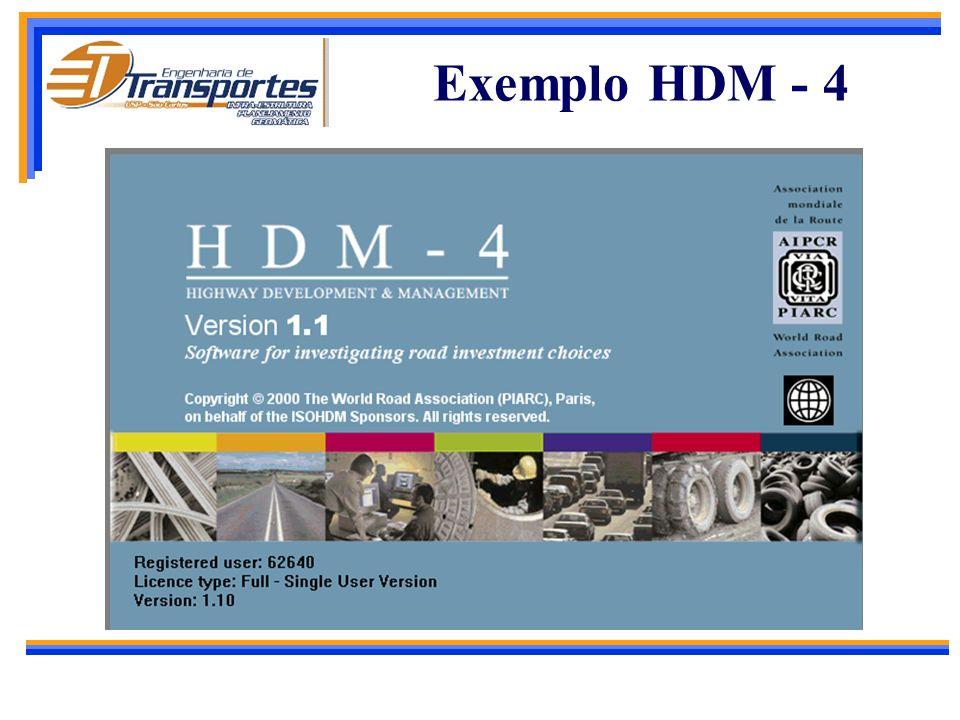 Sistema HDM - 4