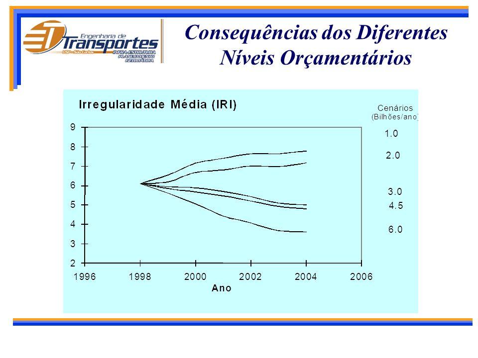 Formulação e Otimização de Programa em Nível de Rede Quais são os recursos necessários para manter a rede viária? Como o organismo rodoviário deve alo